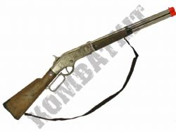 1193 Die-Cast Metal Cowboy Rifle 8 Shot Toy Cap Gun 82cm